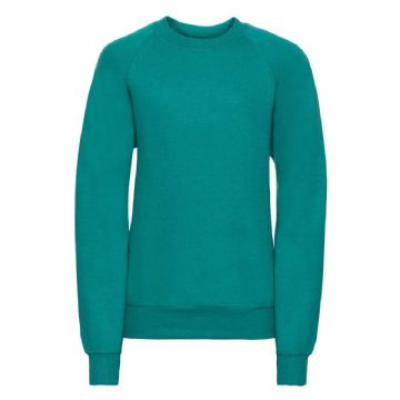 NEWTON PARK PRIMARY SCHOOL WINTER EMERALD  SWEATSHIRT WITH LOGO